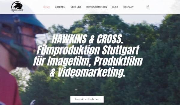 Filmproduktion Stuttgart - Hawkins -Cross